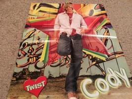 Cody Linley Mitchel Musso  teen magazine poster clipping werid Twist