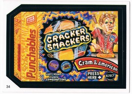 2005 Topps Wacky Packages Series 2 Punchables Cracker Smackers Trading C... - $5.99