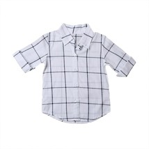 Summer 2017 Toddler Kids Baby Girls Outfits Clothes Plaid T-shirt Dress ... - $9.49