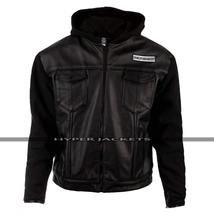 Sons of Anarchy Outlaws Hoodie Biker Jacket image 2