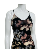 Fashion Nova Dress Small Bodycon Stretch Floral Side Slit New with Tags - $24.99