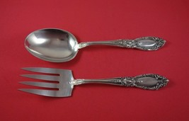 "King Richard by Towle Sterling Silver Vegetable Serving Set 2pc 8 1/2"" Rare - $389.00"