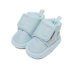2PCS Soft Cotton Shoes Autumn and Winter Shoes Colth Shoes Toddler Shoes BLUE image 2