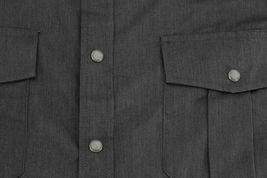 Men's Casual Western Pearl Snap Button Down Short Sleeve Cowboy Dress Shirt image 4