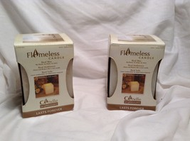 NEW Candle Expressions Real Wax Vanilla Flameless Candle  - $29.70