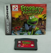 FROGGER'S ADVENTURES Temple of the Frog NINTENDO GAME BOY ADVANCE GAME w... - $14.85