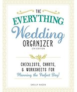 The Everything Wedding Organizer, 3rd Edition: Checklists, charts, and w... - $3.44