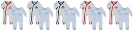 NCAA Infant Sunday Best Coverall Pajamas 2-pc Set Newborn Baby Boy's Sports