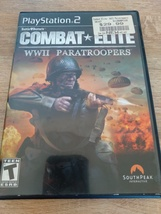 Sony PS2 Combat Elite: WWII Paratroopers ~ COMPLETE image 1