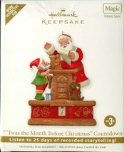 2011 Hallmark Keepsake Twas Month Before Christmas Magic Sound Motion Co... - $9.89