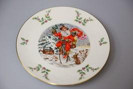Vintage Royal Doulton annual Christmas holiday collectors plate 1982 Santa Claus - $28.19