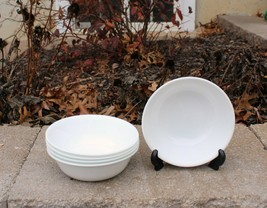 "Corelle Winter Frost White 6 1/4"" Soup Cereal Salad Bowls - Set of 5 - $19.99"