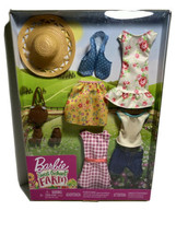 Barbie Sweet Orchard Farm Doll Clothes, New in Package W10 - $11.33