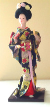 Handmade Silk Japanese Figurine Dolls by Top Handicraftsman,Size:31x12x12cm - $119.00