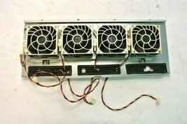 4x Tray SuperMicro DC12V 0.55A Nidec 80mm FAN-0126L4 V80E12BHA5-57 for C... - $54.00