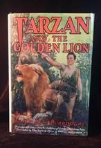 TARZAN & THE GOLDEN LION Edgar Rice Burroughs PHOTOPLAY edition 1928 G&D - $33.81