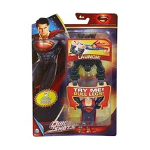 Superman Man of Steel Quick Shots UltraHero Superman & Launcher Y0785 Qu... - $14.31
