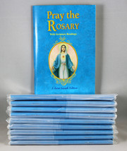 Pray The Rosary Booklets With Scripture Readings 10 Set Devotionals and ... - $33.80