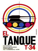 El TAnque T-34 vintage Movie POSTER.Graphic Design.Wall  Art Decoration.... - $10.89+