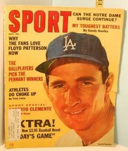 1965 May Sport Magazine - Sandy Koufax HOF Pitcher Dodgers Cover Mantle/... - $14.85