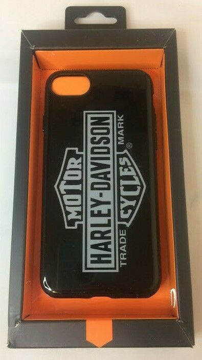 Harley-Davidson Venture Vertical B&S Logo iPhone 7 / 8 Phone Case - Black 9508 image 3
