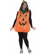 Amscan Hübsch Kürbis Jack O Laterne Erwachsene Übergröße Halloween Kostü... - $31.55