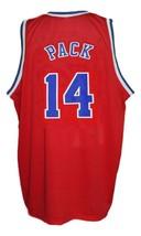 Robert Pack #14 Washington Retro Basketball Jersey Sewn Red Any Size image 4