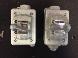 GE Manual Motor Starter CR101Y400H QTY: 2 - $130.00