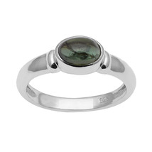 Lovely Green Tourmaline 925 Sterling Silver Ring Shine Jewelry Size-8 SH... - £8.09 GBP