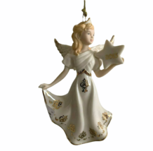 "LENOX 2013 Annual Angel Ornament ""Good Tidings of Joy Angel""  Rare NIB - $51.22"