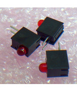 3mm  90 Deg Red indicator  LEDs -50pcs - $1.35