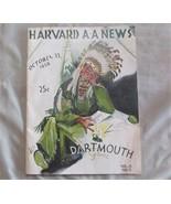 1938 Harvard Dartmouth Football Program, 52 pages, Nice - $30.69