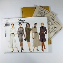 Vogue Patterns 14 16 18 1441Basic Design Misses Dress 1994 5 Styles - $24.18