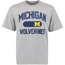 NEW NCAA University of Michigan Wolverines Gray T-Shirt SIZE L - $5.00