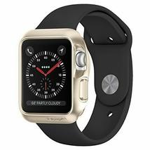 Spigen Slim Armor Case for Apple Watch 42mm - Gold (Series 3 /2 / 1) - $10.99
