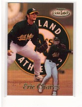 1999 Topps Gold Label #8 Eric Chavez Athletics Collectible Baseball Card - $0.99