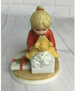 "Vtg Lenox Teddy's First Christmas Teddy and Tiny Tots 4"" Holiday Figurine - $18.69"