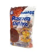 Miguelito Raqueta Paleta Enchilada Mexican Candy Hot Chili Lollipops 40 Pcs - $16.95