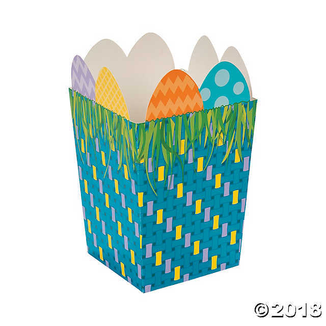 Egg-Topped Easter Treat Containers