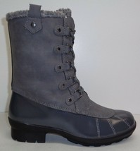Aerosoles Size 6.5 BARRICADE Grey Combo 061 Memory Foam Boots New Womens... - $107.91