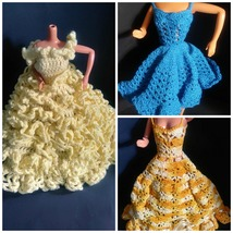 Vintage Barbie handmade crochet clothing - $30.99