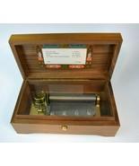 Vintage Reuge Sainte Croix Music Box Switzerland 4 Song 50 Note 45031 CH... - $593.01