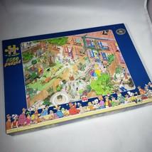 Jan Van Haasteren Neighbours Neighbors 1500 Piece Jigsaw Puzzle Amsterda... - $44.95