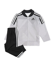 new addidas kids PRINTED TRICOT SET sz 7 boys girls track suit Pants + J... - $49.40