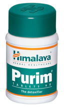 Himalaya Purim 60 Tablets Indian Herbal Product Free Shipping - $8.63+