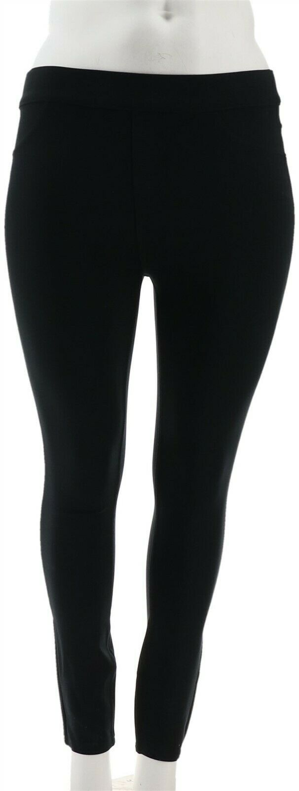 Primary image for Spanx Ponte Ankle-Length Leggings Very Black M NEW A309030