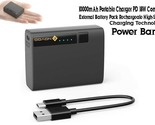 10000mAh Portable  PD 18W Compact External Rechargable High speed battery pack - $17.82