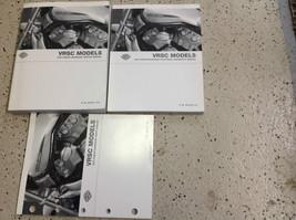 2004 Harley Davidson Vrsc Service Werkstatt Handbuch Set mit Elektrisch & Teile - $347.75