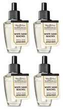 Bath and Body Works 4 Pack White Sands Beaches Wallflowers Fragrance Ref... - $45.84