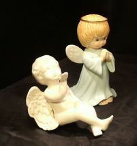 Ceramic Angels AA-191730  Vintage Collectible Pair image 3